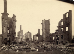 Ruins of Seminary Building, MHC Archives